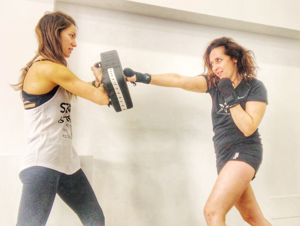 braid boxe fitboxe Fly high Mallorca