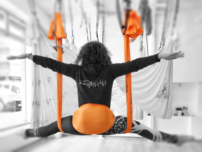 Antigravity fitness yoga Fly high Mallorca